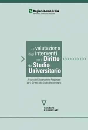 La valutazione degli interventi per il diritto allo studio universitario