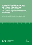 Forme di gestione associata nei servizi alla persona