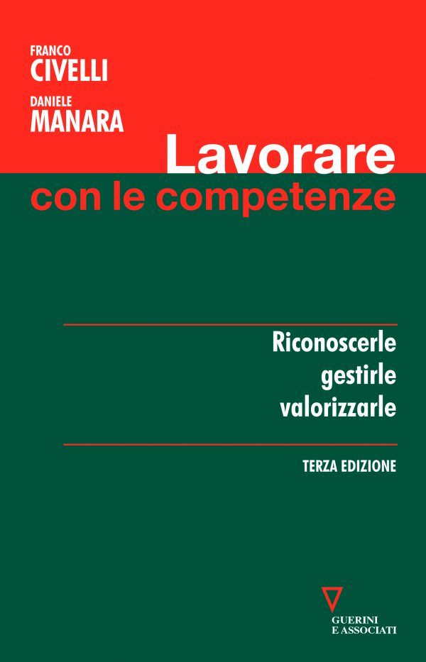 Copertina del libro Lavorare con le competenze