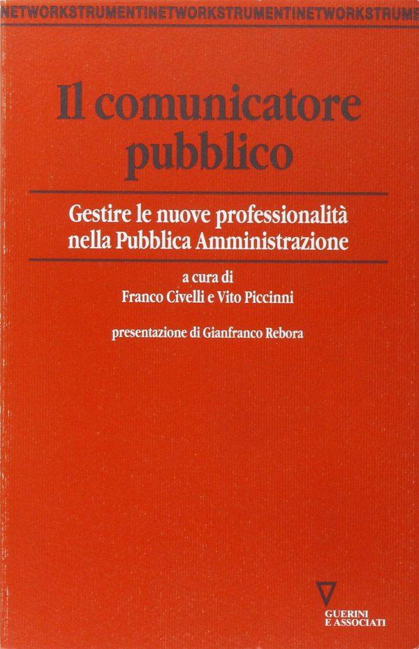 Copertina del libro Il Comunicatore pubblico