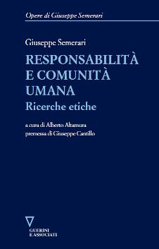 Responsabilità e comunità umana-0