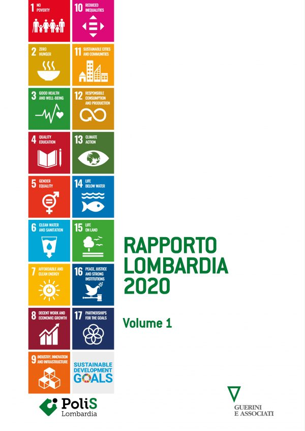 Copertina del libro Rapporto Lombardia 2020 - VOL 1