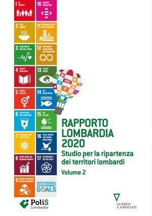 Copertina del libro Rapporto Lombardia 2020