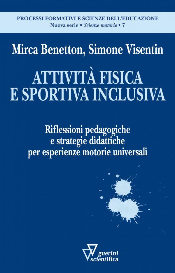 Copertina del libro Attività fisica e sportiva inclusiva