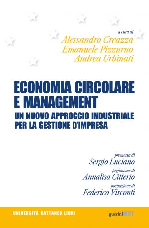 Copertina del libro Economia circolare e management