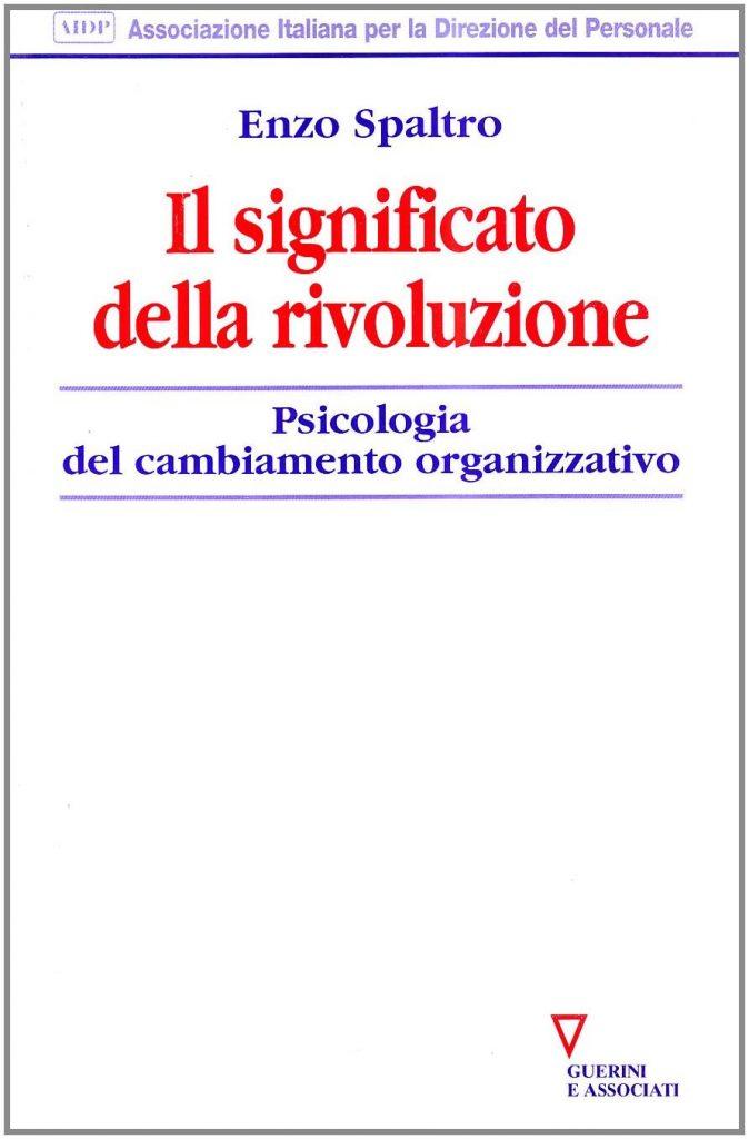 Enzo Spaltro, Il significato della rivoluzione