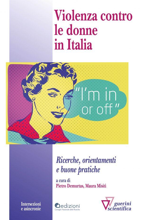 Copertina del libro Violenza contro le donne in Italia
