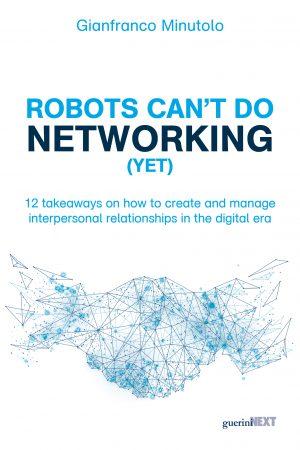Copertina del libro Robots can't do Networking