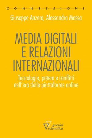Copertina del libro Media digitali e relazioni internazionali