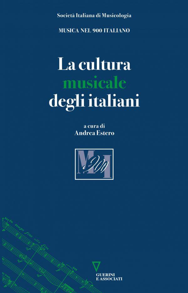 Copertina del libro La cultura musicale degli italiani