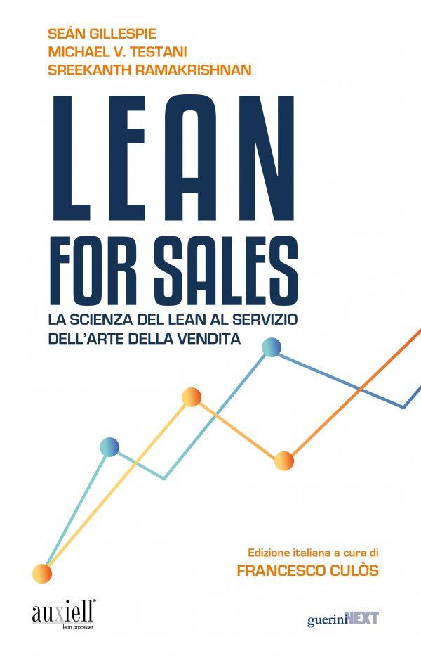 Copertina del libro Lean for Sales