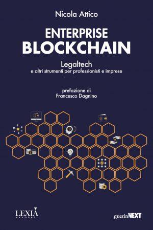 Copertina del libro Enterprise blockchain