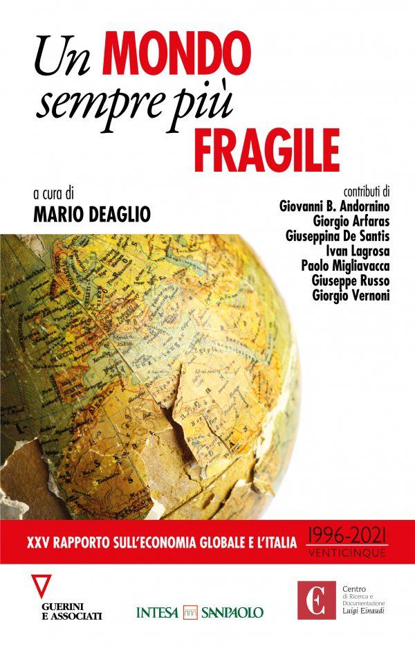 Copertina del libro Un mondo sempre più fragile